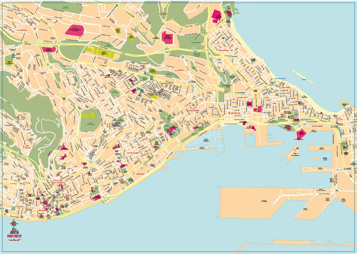map of san agustin gran canaria